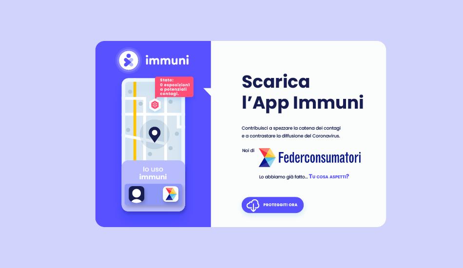 Scarica l'App Immuni