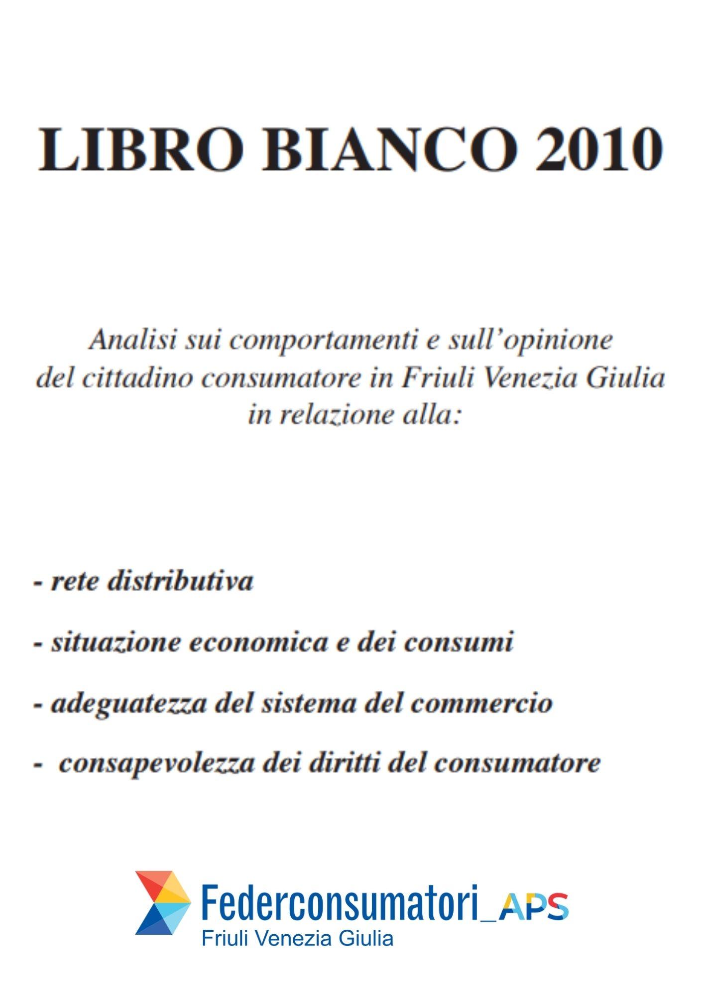 Libro bianco 2010