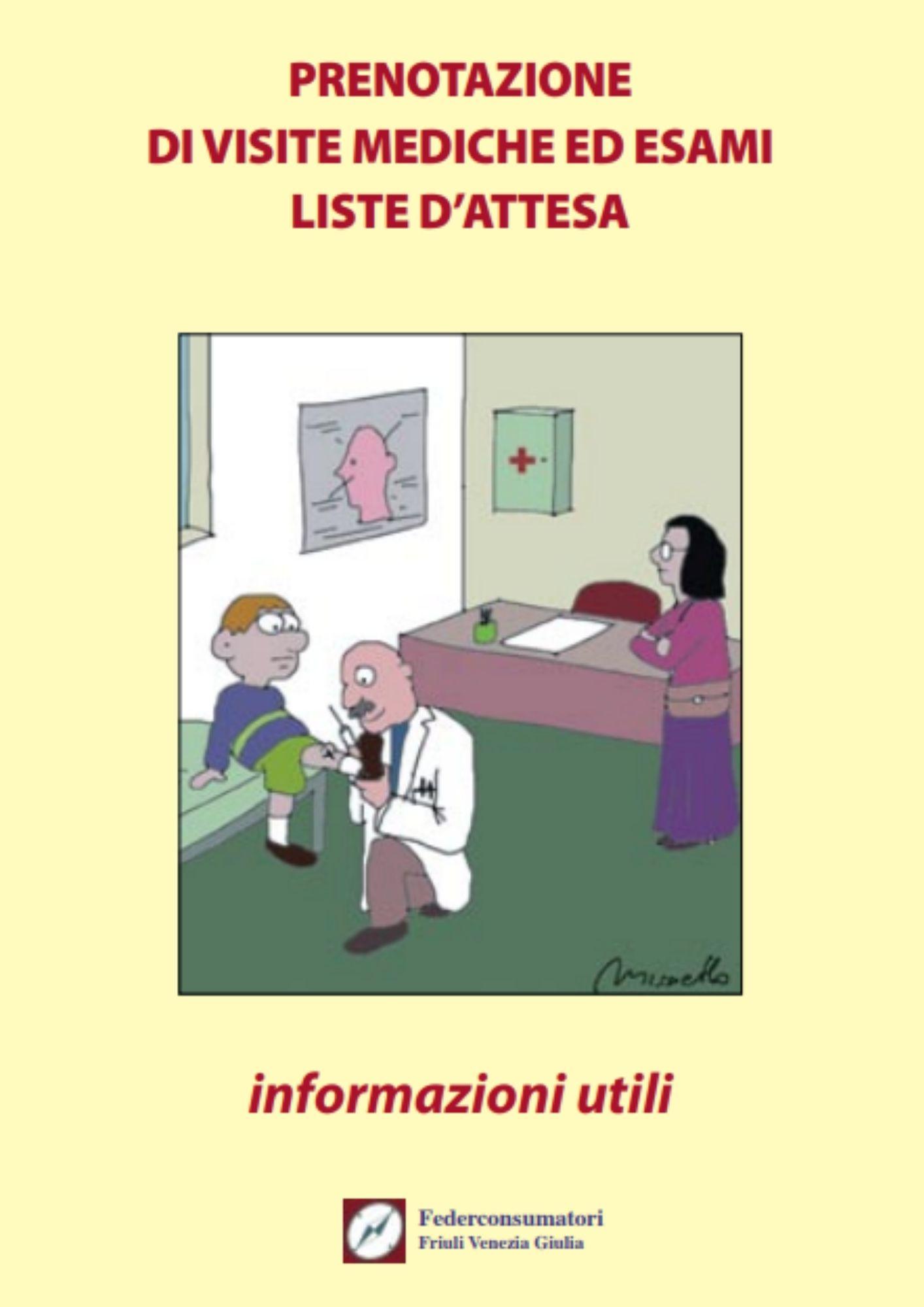 Prenotazione di visite mediche ed esami liste d'attesa